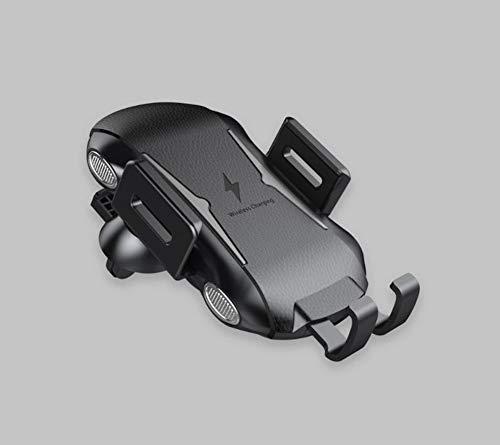 LHJCN Wireless-Autoladegerät-Halterung,Schnellladung, Auto-Air-Vent-Handyhalter mit automatischer Klemmung,10W kompatibel für Samsung S10/S10 Plus/Note 9/S9/S8, für iPhone XS Max/XR/X/8 (Motorola Iphone 5 Auto-ladegerät)