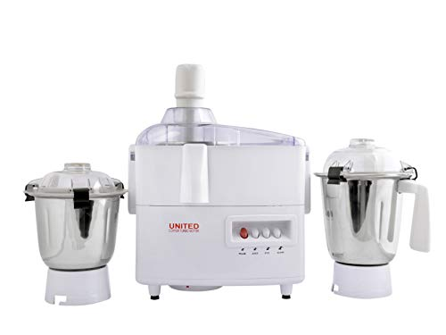 United Juicer Mixer Grinder 800 watts Copper Motor (Metal Coupling) Free Home Service