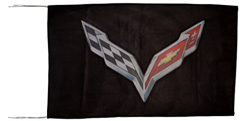 chevrolet-corvette-c7-black-flag-banner-25x5-ft-150-x-90-cm