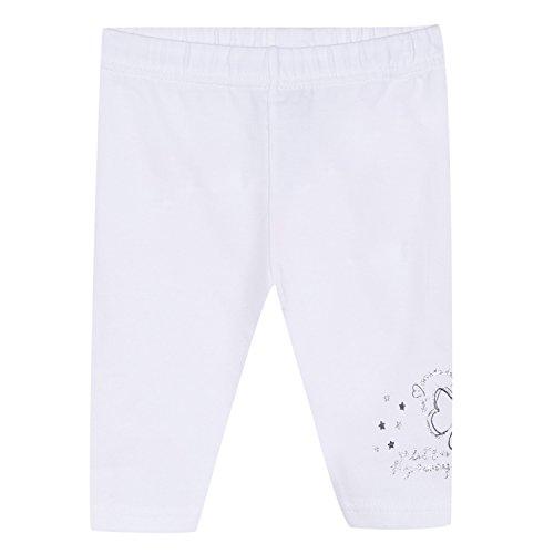 3 Pommes 3L24002, Pantalones para Bebés, Blanco (Blanc 01), 12-18 Meses