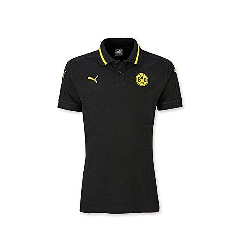 polo-f-enfants-borussia-dortmund-bvb-09-tshirt-camiseta-puma-loisirs-t-shirt-t-shirt-noir