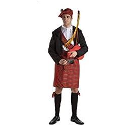 Disfraz escocés adulto. Talla 50/52