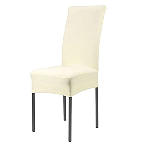 ALCYONEUS Stretch Banquet Slipcovers Wedding Party Dining Room Folding Short Chair Covers