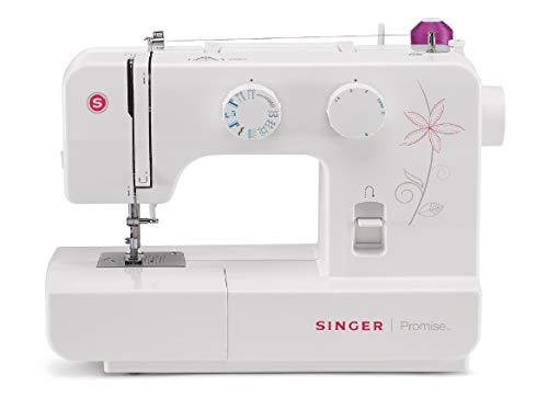 Singer Machine à Coudre, Plastique, Blanc, 42,5 x 22 x 33,8 cm