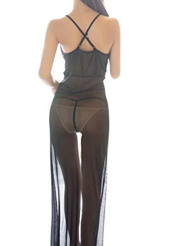 Direkte Dreamgirls Kostüm - Schwarz Lila Dessous Dessous Lila Verführung Sexy Sexy Spitze Große Größe Bundle Langen Rock Offene Gabel Set Durchschnittlicher Code schwarz
