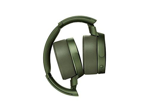 Sony MDR-XB950N1 kabelloser Kopfhörer mit Geräuschminimierung (Noise Cancelling, Extrabass, NFC, Bluetooth, faltbar) grün - 5