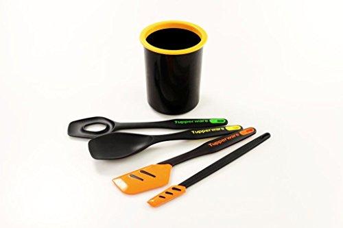 Tupperware Poignée prêts à Mélangeur/cuillère de service + ordre Pot + Spatule + Petit Grattoir P 27228