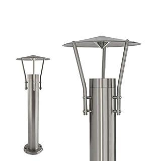 MAXKOMFORT Wegeleuchte Aussenleuchte Standleuchte Standlampe Gartenleuchte Edelstahl GU10 242-500