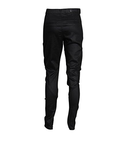 5 UNITS Damen Hose Jolie mit Beschichtung in Schwarz black coated