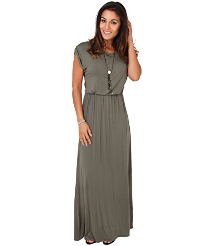 3269-kha-08-turn-up-sleeve-maxi-dress