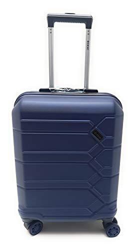 Trolley Ryanair Priority idóneo 55 x 40 x 20 cm ABS rígido 8 Ruedas, Turquesa (Azul) - 185