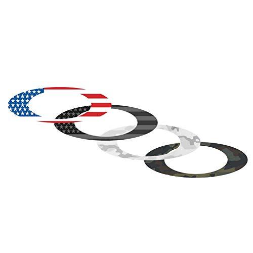 Oakley Sticker Pack Small USA Flag/Camo (211-006-001)