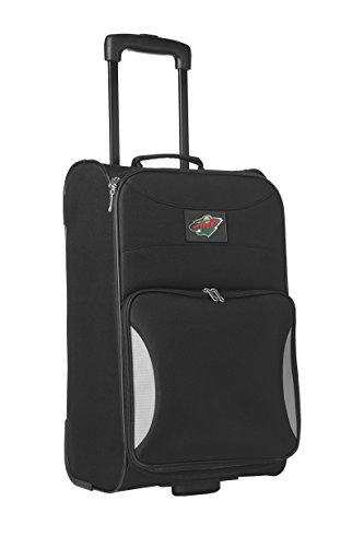 nhl-minnesota-wild-steadfast-upright-carry-on-luggage-21-inch-black