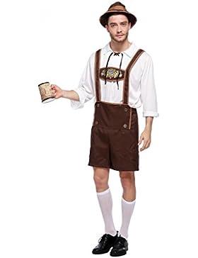 Drindl Set Trachtenkleid (Erwachsene und Kinder) Kostüm zum Oktoberfest und Karneval