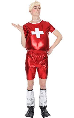 Herren nur Gay Village Komisch TV 00er Hirsch Verkleidung Kostüm Extra ()