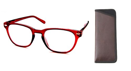 Boomer Eyeware Die Panorama - Qualität Bifocal Lesebrille - Lesebrille Sie können tragen die ganze Zeit !, 1 1,75 Braun