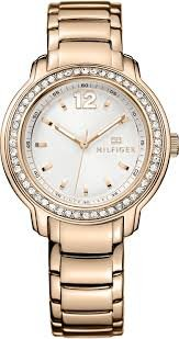Tommy Hilfiger Silver Dial Rose Gold-tone Ladies Watch 1781468 image