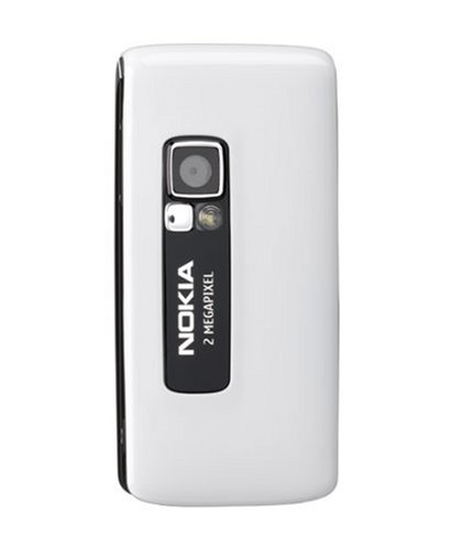 Nokia 6288 white UMTS Handy
