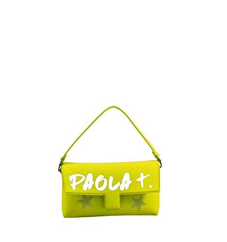 PAOLA T. , Damen Henkeltasche Gelb