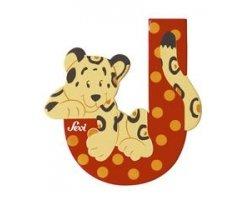 Sevi Alphabet Buchstaben Graffiti Animal, Buchstabe Jaguar J