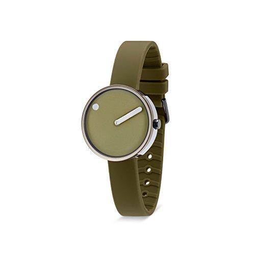 Rosendahl Unisex Reloj de pulsera Picto analógico de cuarzo silicona 103972V000001