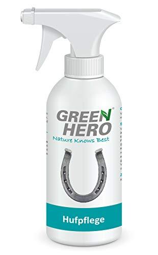 Green Hero Hufpflege für Pferde, 500 ml, Pflegt Haut und Huf bei Strahlfäule, Mauke und Hautverletzungen, Strahlpflege, Strahlspray, Hufspray -