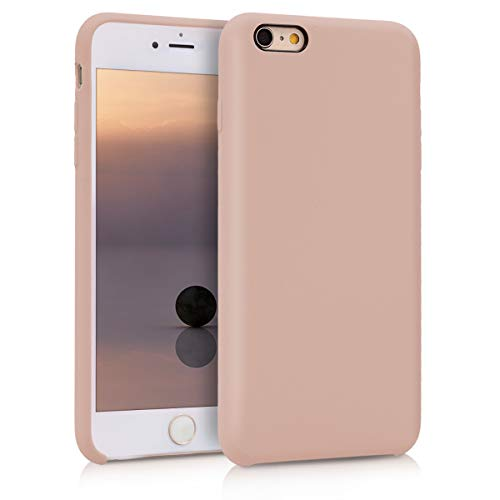 kwmobile Apple iPhone 6 Plus / 6S Plus Hülle - Handyhülle für Apple iPhone 6 Plus / 6S Plus - Handy Case in Altrosa