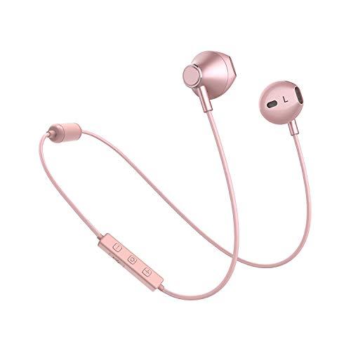 Bluetooth Kopfhörer V5.0, 8 Stunden Spielzeit, In Ear Kopfhörer Bluetooth für Laufen, Jogging, Gaming, Sport Kopfhörer mit Magnet, Bluetooth Headset kompatibel mit Allen bluetoothfähigen Handy