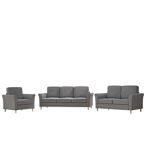 Polstergarnitur Werona 3+2+1 Sofagarnitur Couchgarnitur Couch Sofas Sessel (Hugo 96)