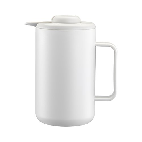 Bodum Bistro - Jarra térmica, 1 l, color blanco crema
