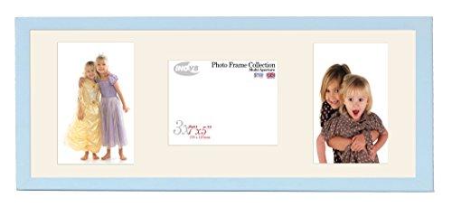 Inov8 British Made Bilderrahmen/Fotorahmen, Value Sky Blau dreifach-App 7x 5x 2P/1L Zoll, Single