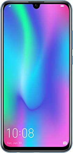 Honor 10 Lite 64 GB Smartphone BUNDLE mit 24MP AI Selfie Kamera (6,21 Zoll), Dual-Kamera, Dual-SIM, Android 9.0) Sky Blue + gratis Protective Cover [Exklusiv bei Amazon] - Deutsche Version