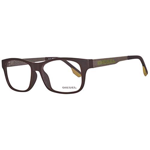 Diesel Unisex-Erwachsene Brillengestelle Brille DL5042 049 54, Braun