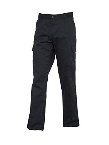 UC905 - Ladies Cargo Trousers (245 GSM) - Black - Ladies Size 10