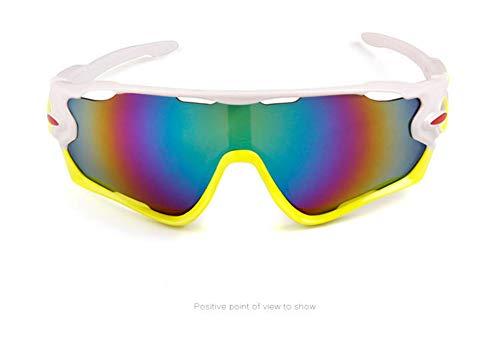 APJJ Outdoor-REIT Brille Sonnenbrille Sportbrille Upgrade-Version,G