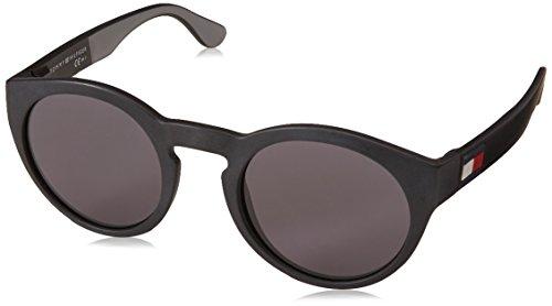 Tommy hilfiger occhiali da sole th 1555/s black/grey uomo