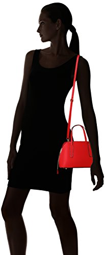 Chicca Borse 8672 Borsa A Mano Donna 24x17x13 Cm w X H L Rosso red