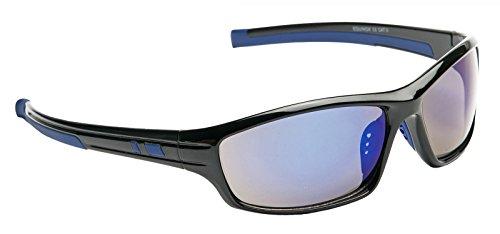 American Freshman Rectangle métal lunettes de soleil aviateur en lumière Gunmetal AFS029 One Size Blue Mirror d3nDOQRl