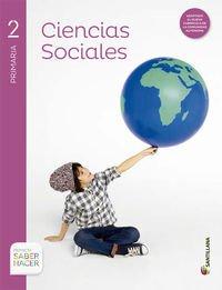 CIENCIAS SOCIALES MEC 2 PRIMARIA SABER HACER - 9788468028910 por Aa.Vv.