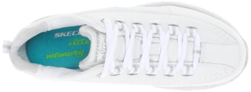 Skechers 11798 Sneaker Synergy - Elite Status, Donna Bianco