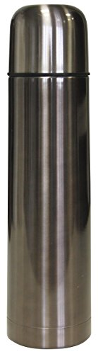 Hovac 210144 Bouteille Isotherme Inox Gris 1 L