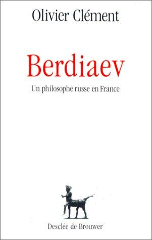 Berdiaev, un philosophe russe en France