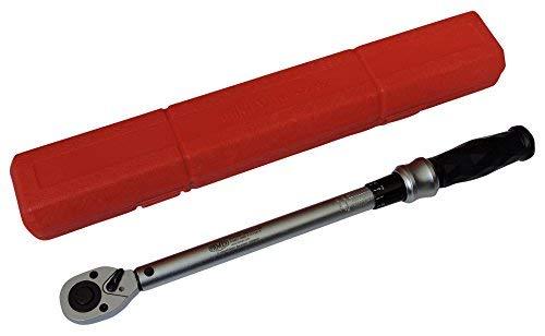 FAMEX 10865 Drehmomentschlüssel, 12,5 mm (1/2-Zoll)-Antrieb, 40-210 Nm, TOP-Qualität, mit Kalibrierschein