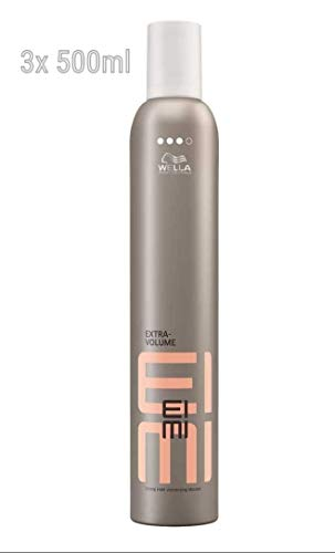 Wella Professionals Styling Extra Volume Styling Mousse Extra Strong - 500ml (3´er Pack)
