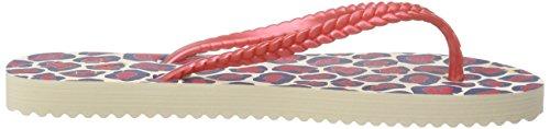 flip*flop - Slim Leo, Sandali infradito Donna Multicolore (Mehrfarbig (858))