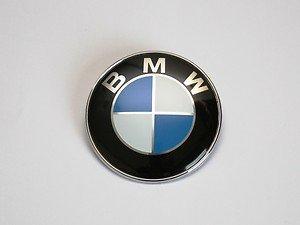 BMW estándar 82mm coche insignia emblema para el capó con dos pines