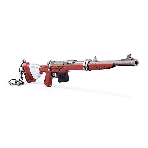 Juegos Metal 1/6 escopeta Rifle Gun Modelo Acción Figura Arte Juguetes Colección Llavero Regalo
