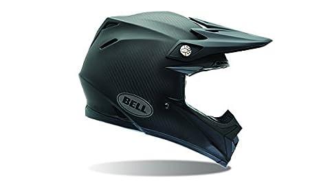 Bell Powersports Casques Moto 9 Carbon Casque pour Adultes, Solid Matte,XL