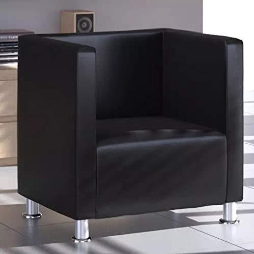 Poltrona a cubo - oakome vidaxl poltroncina ufficio / sgabello / sedia con braccioli per camera da letto 71 x 54 x 69 cm