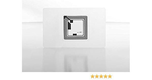 Nfc Tag Karte 180 Byte Transparent 10 Stück 85 Elektronik